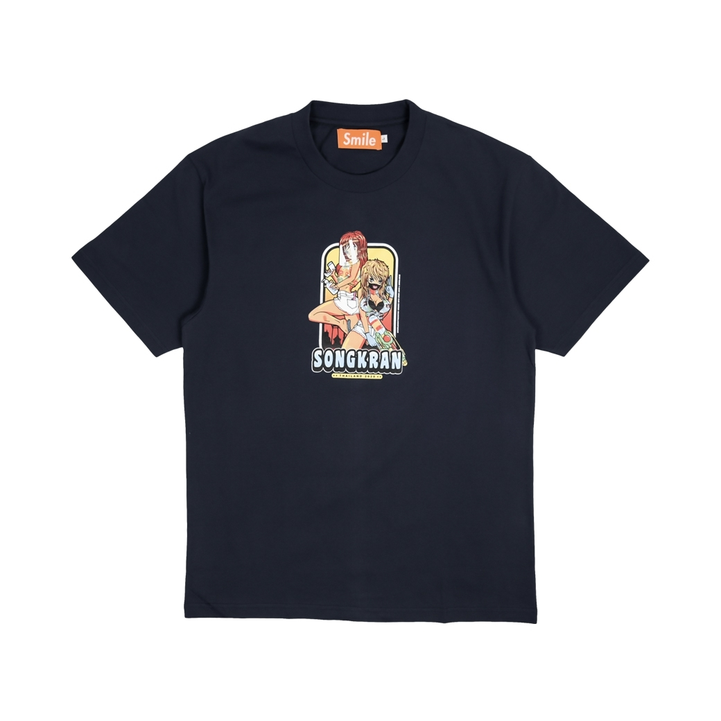 SMILE CLUB CUSTOM SONGKRAN TEE NAVY