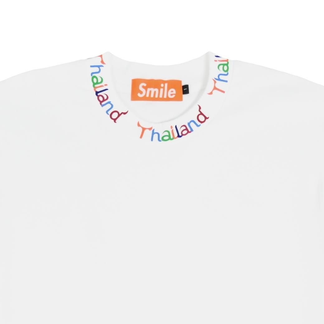 SMILE CLUB CUSTOM THAILAND BASIC (COLOR) T-SHIRT WHITE