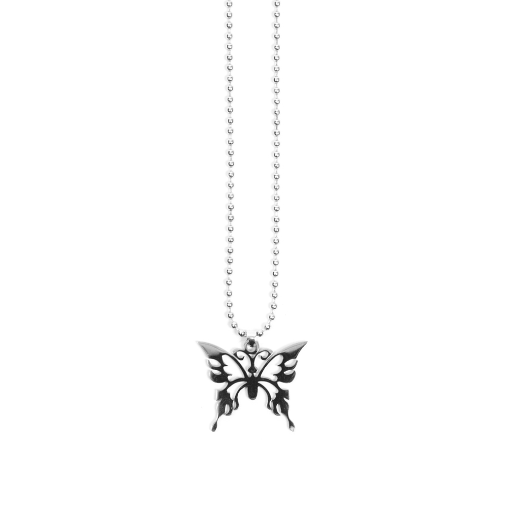 SOLASTA BUTTERFLY V.1 CHAIN SILVER