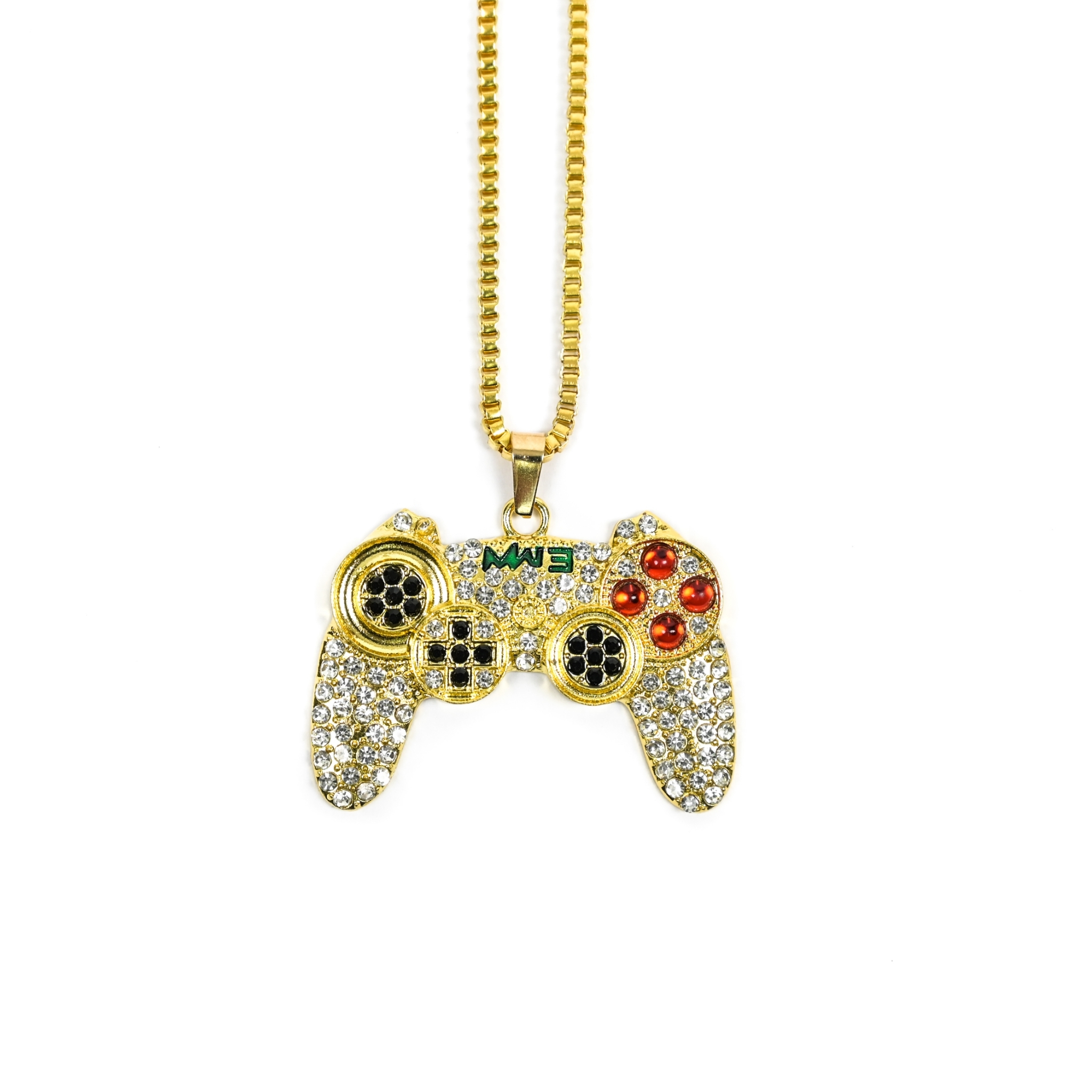SOLASTA GAMIMG NECKLACE GOLD
