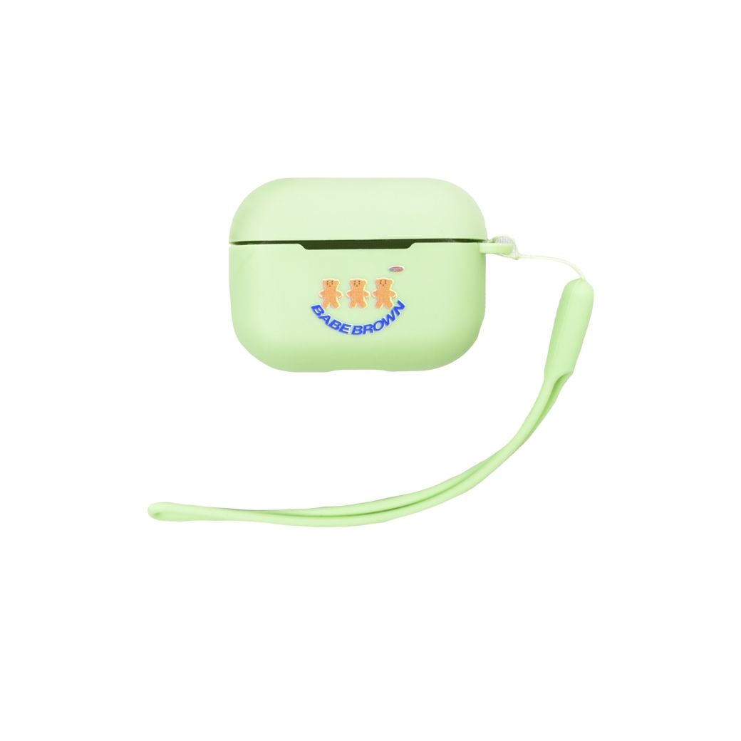 SUP.SNEAK BABE BROWN AIRPODS PRO CASE GREEN