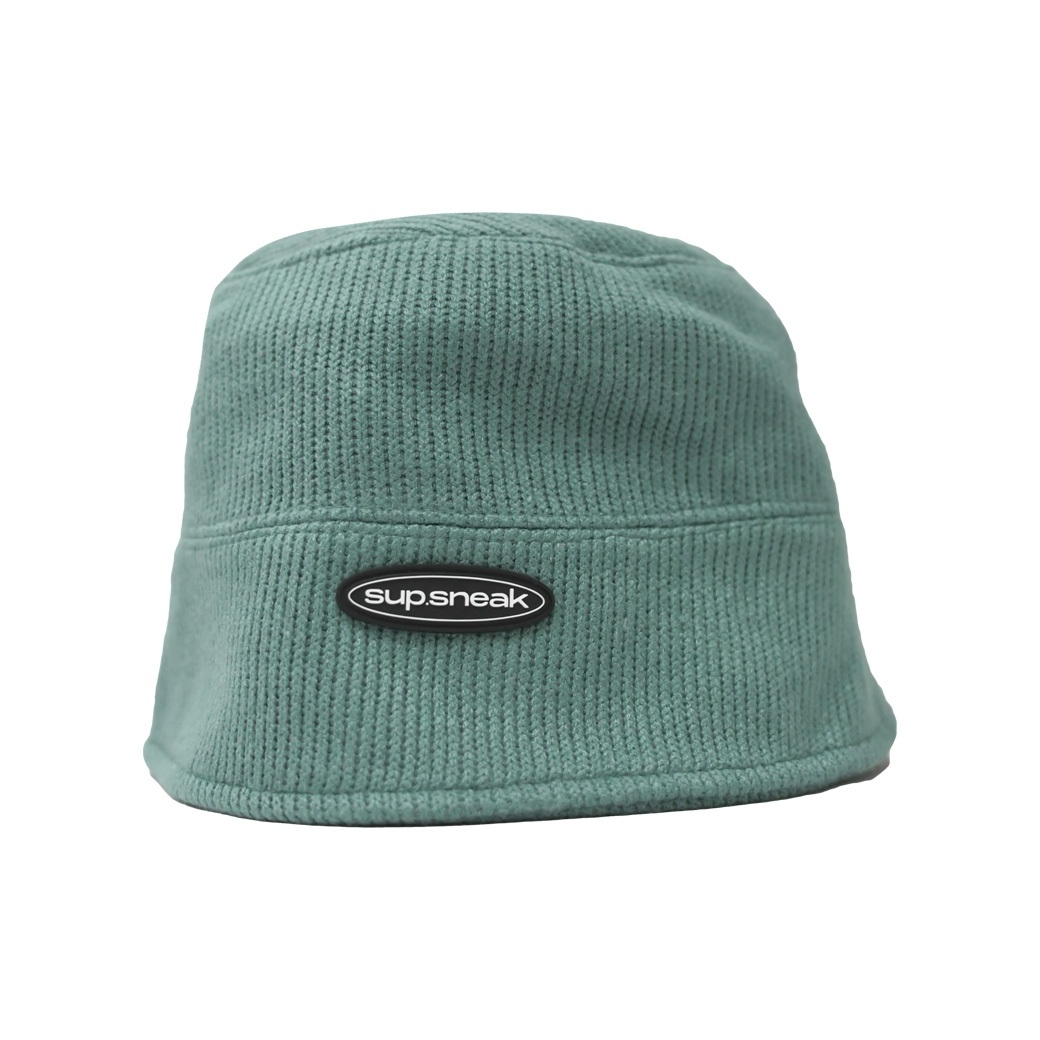SUP.SNEAK KNITTED BUCKET PEPPER GREEN