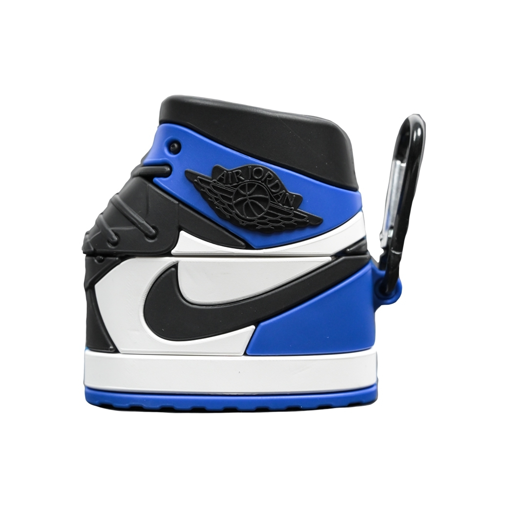 SOLEKEEPER AIRPOD PRO CASE AJ1 FRAGMENT BLUE WHITE