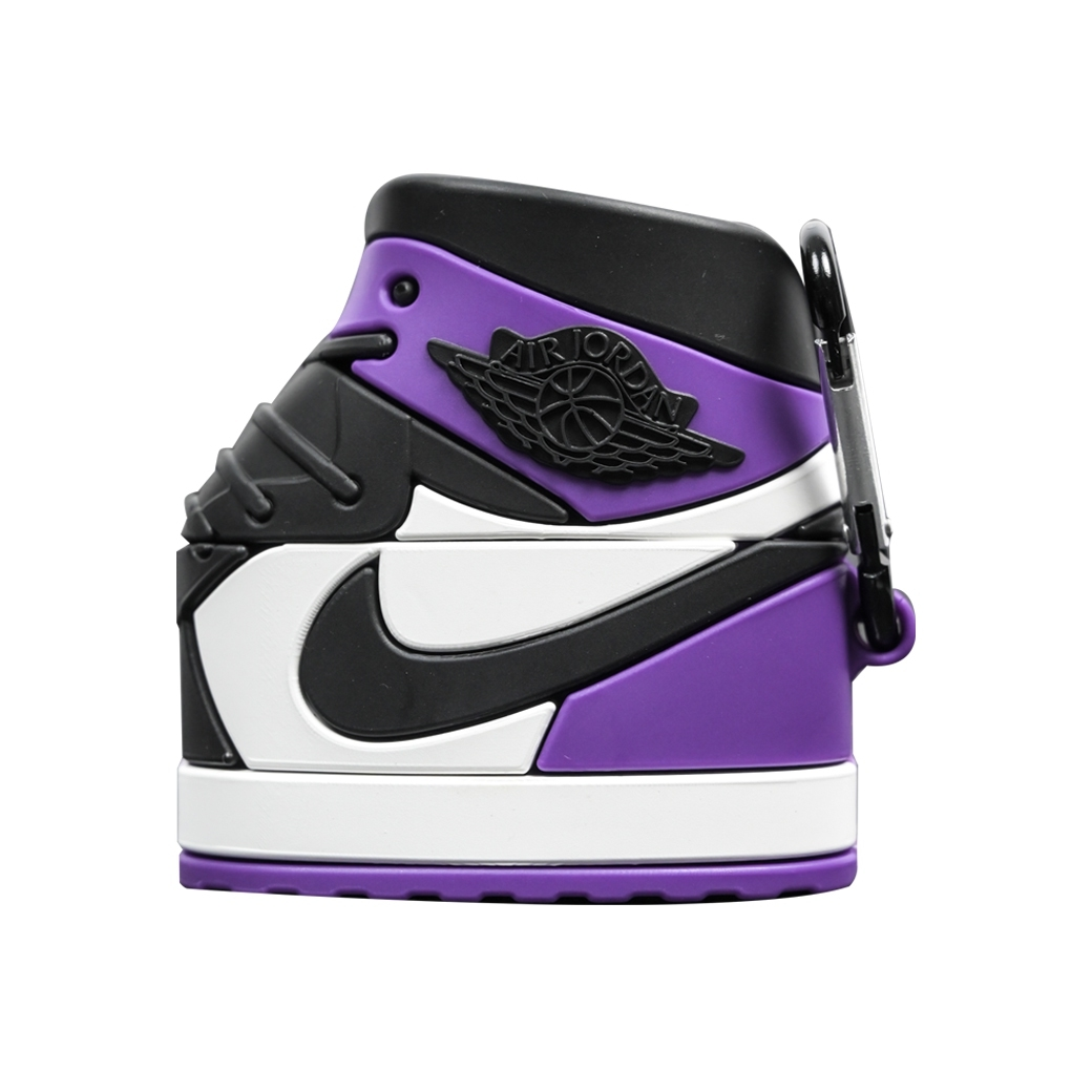 SOLEKEEPER AIRPOD PRO CASE AJ1 COURT PURPLE