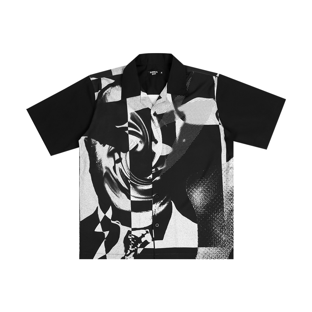 SURREAL SHIT DISTORTION 2 SHIRT BLACK