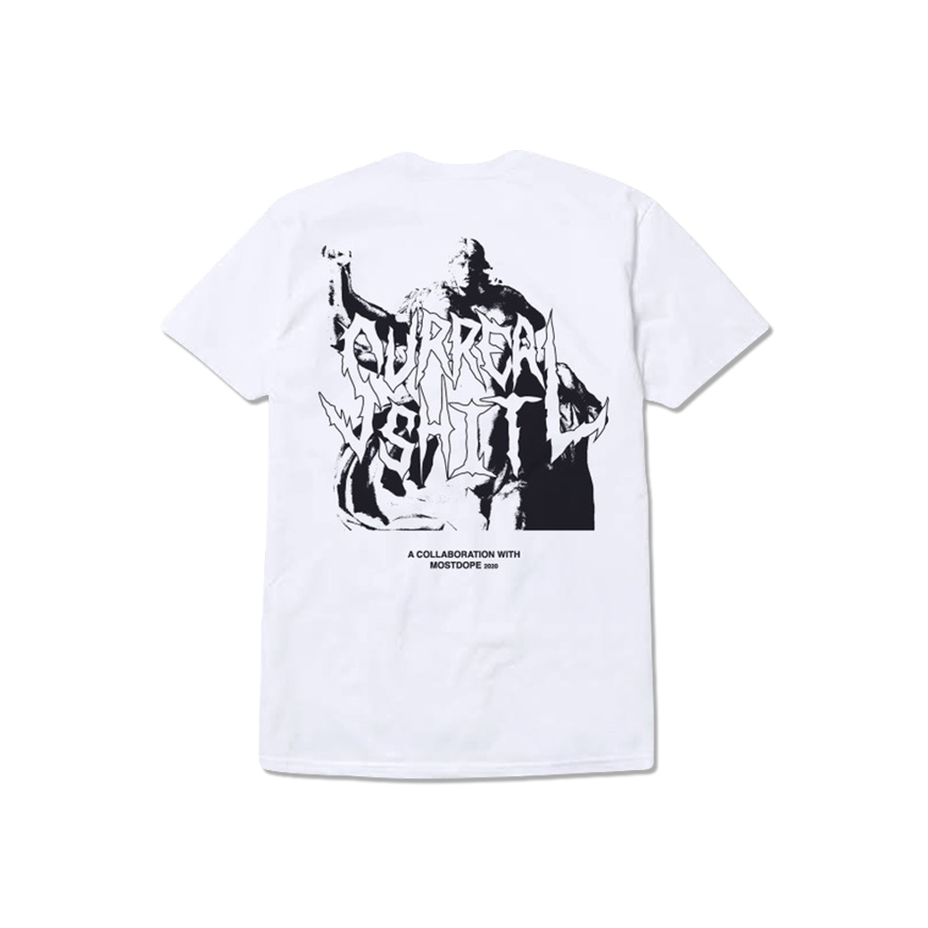 SURREAL SHIT X MOSTDOPE DISRUPTION T-SHIRT WHITE