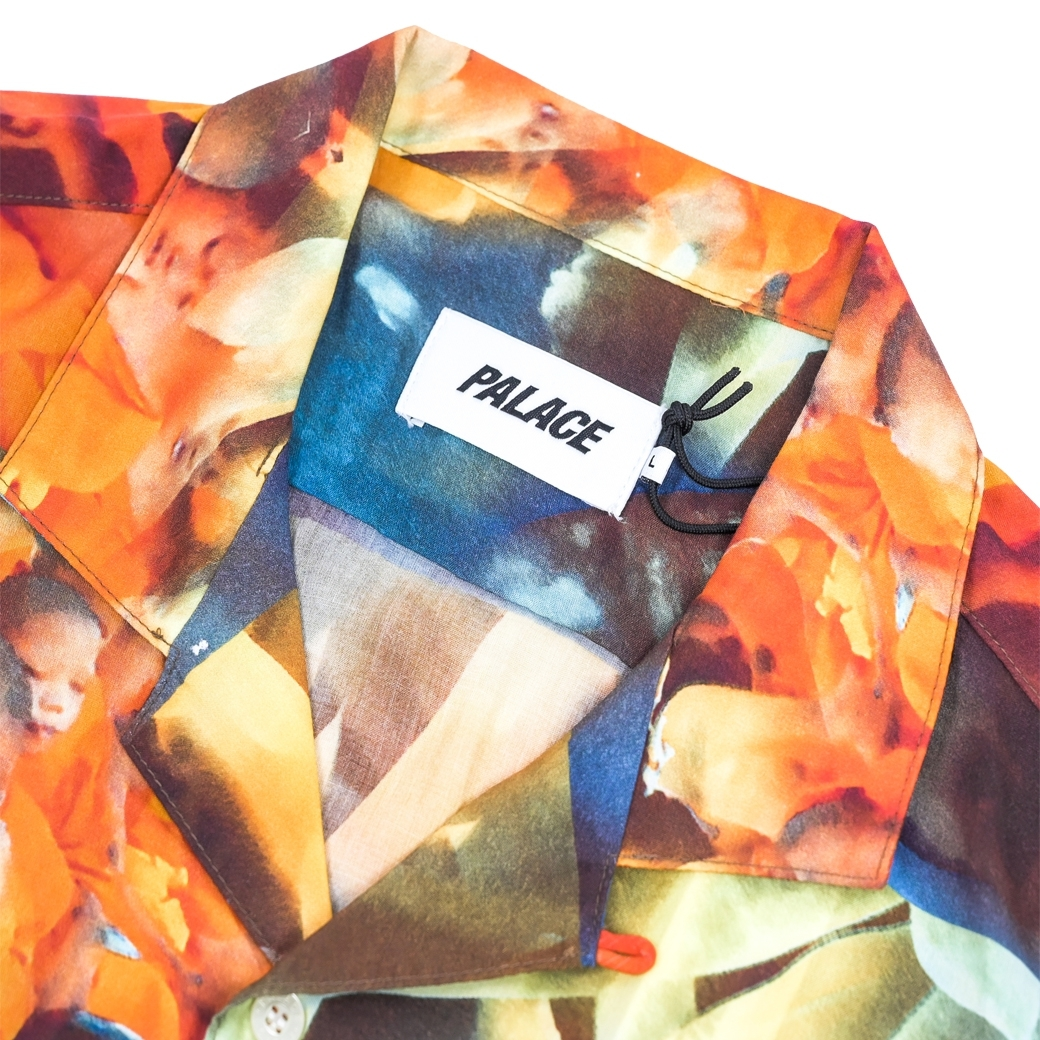 PALACE MANTRA SHIRT ORANGE