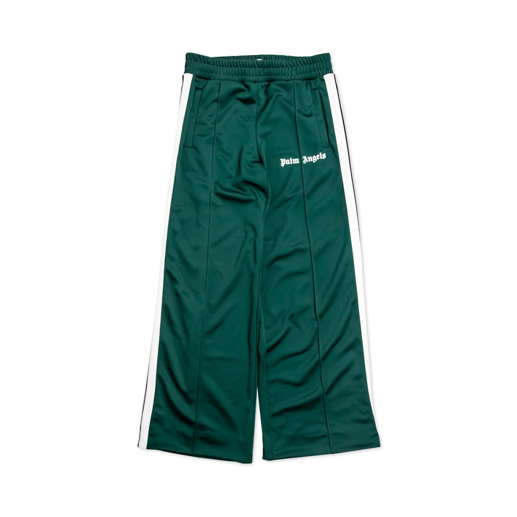 PALM ANGELS TRACK PANTS GREEN