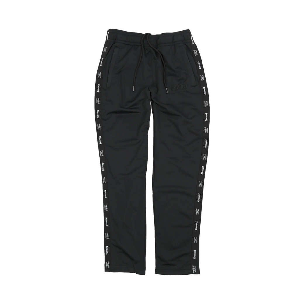 THRASHER HOMETOWN COLOR BLOCK TRACK PANTS BLACK