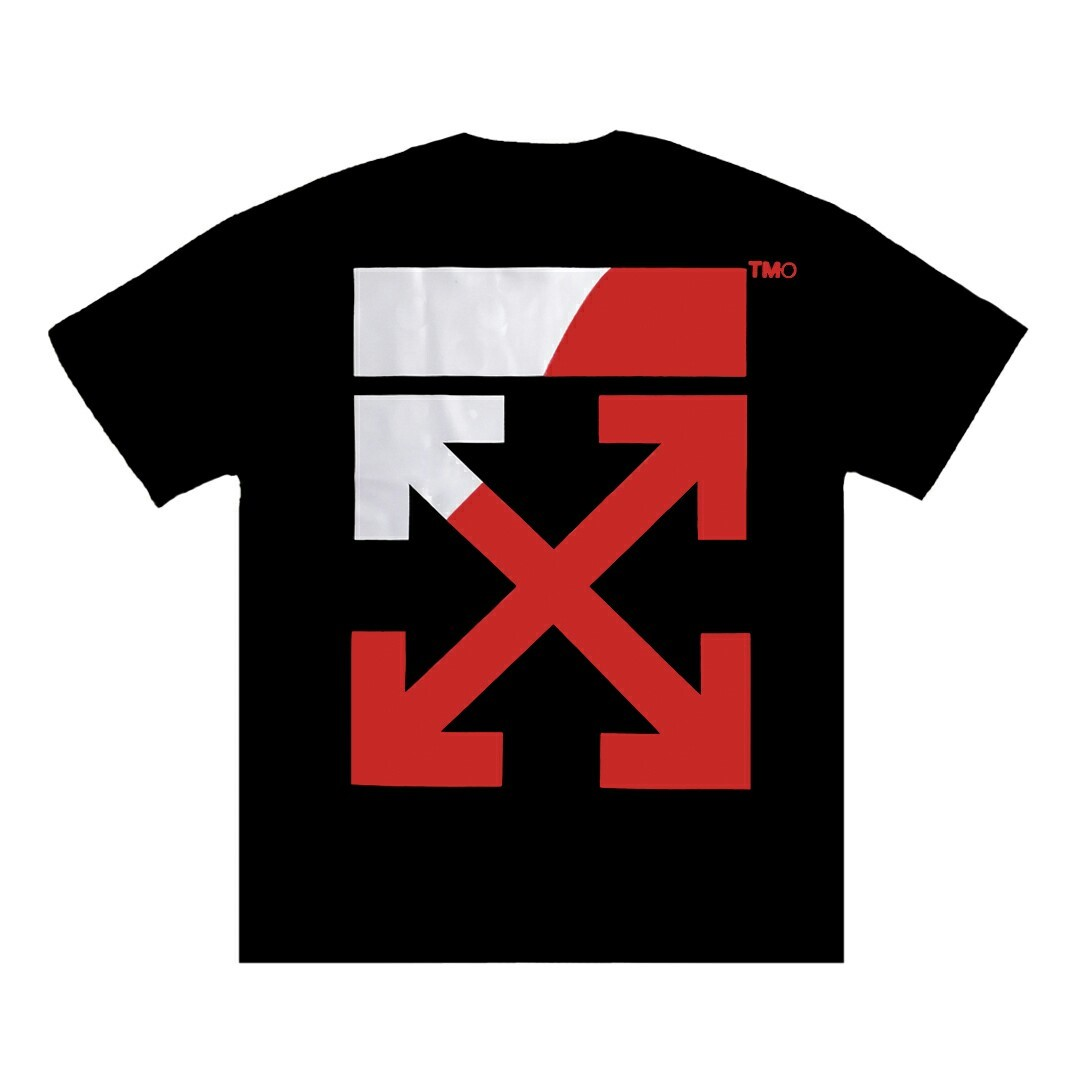 TOOMANY OPTIONS DIVIDED T-SHIRT BLACK