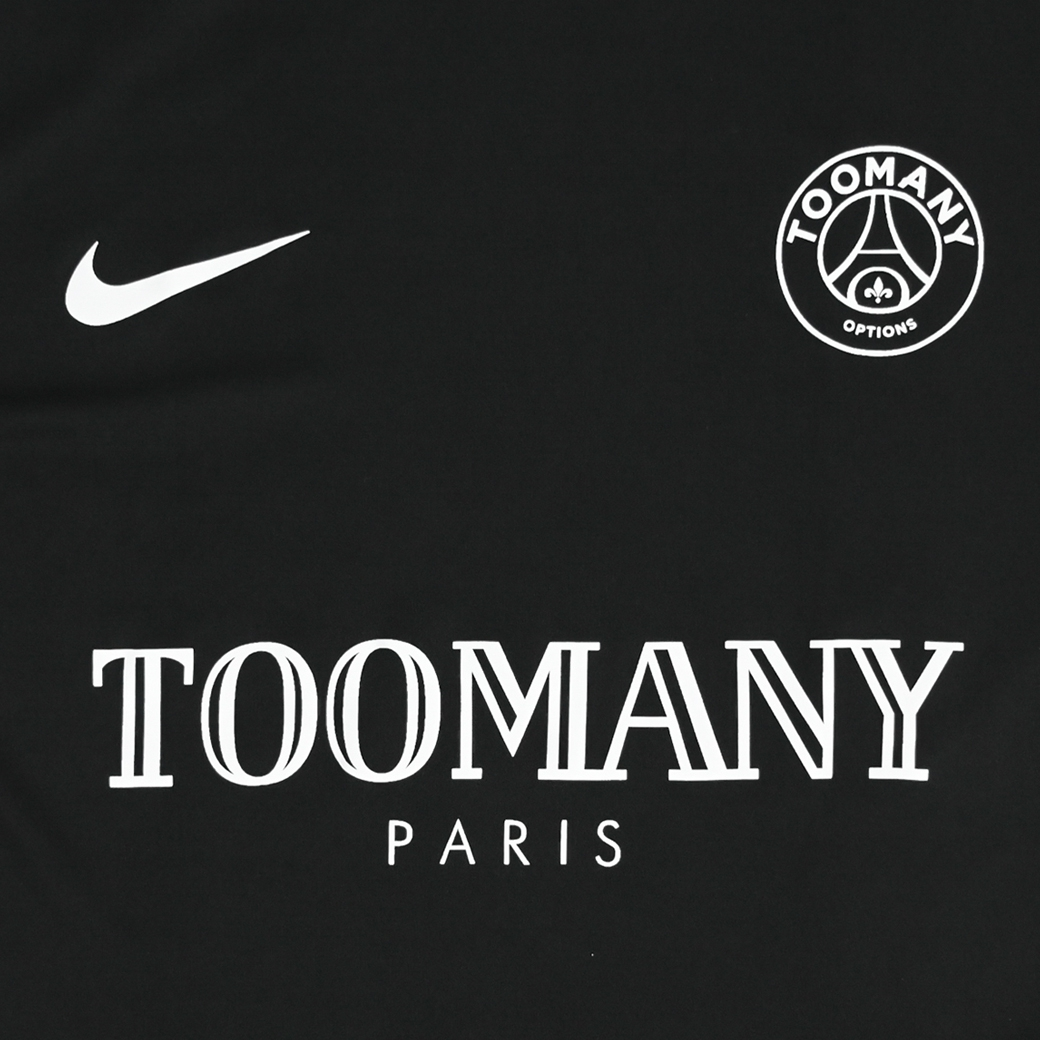 TOOMANY OPTIONS PSG X TMO TEE BLACK