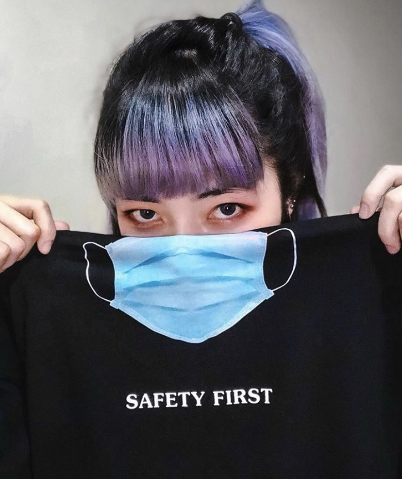TOOMANY OPTIONS SAFETY FIRST T-SHIRT BLACK