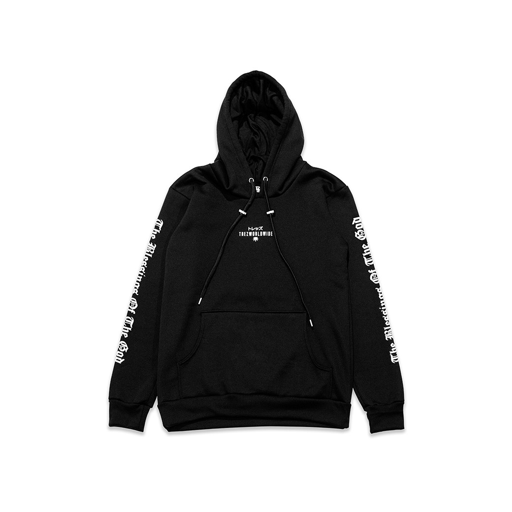 TZ WORLDWIDE GOD IS DOPE HOODIE BLACK