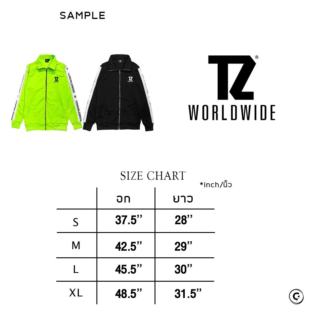 TZ WORLDWIDE TRACK JACKET NEON