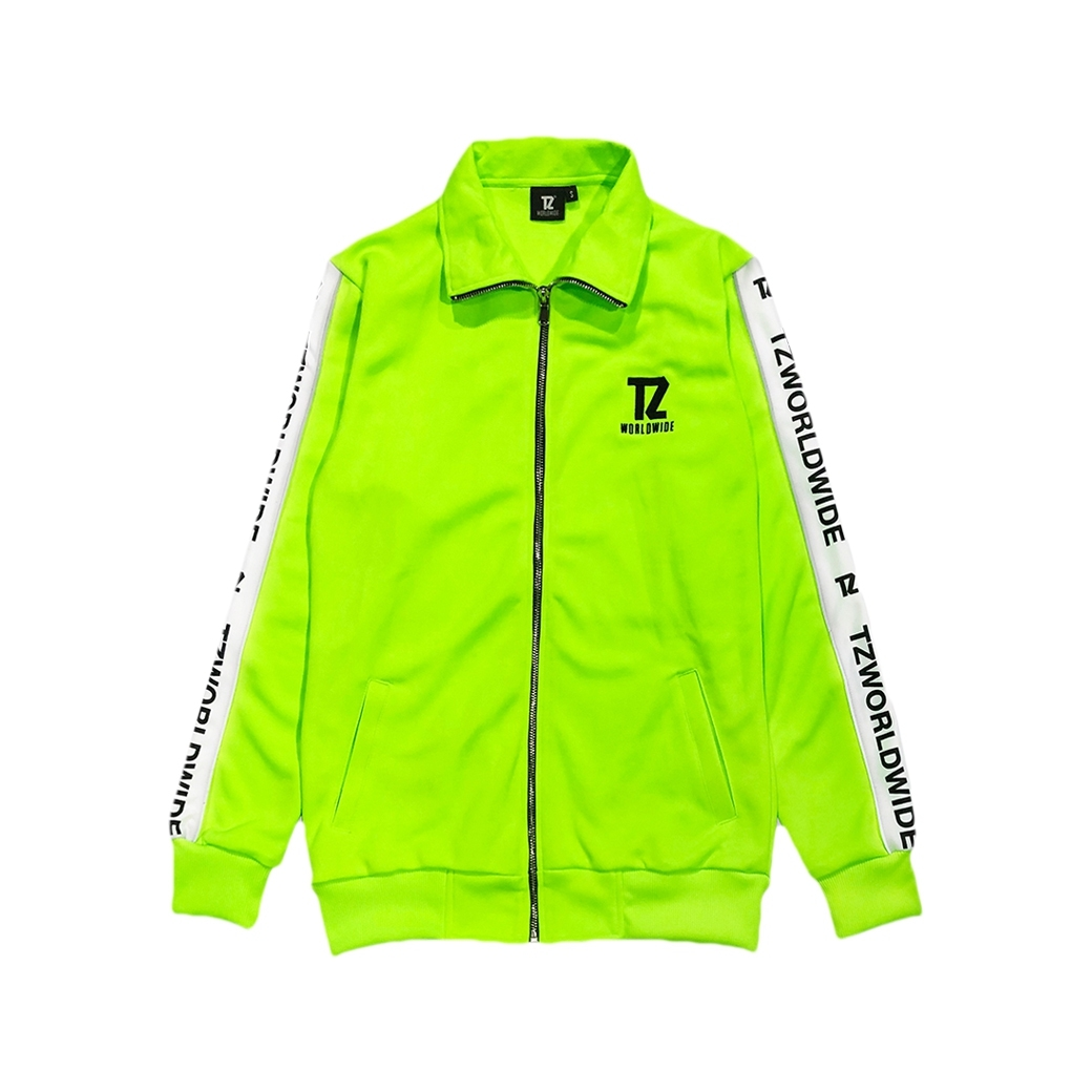 TZ WORLDWIDE TRACK JACKET NEON