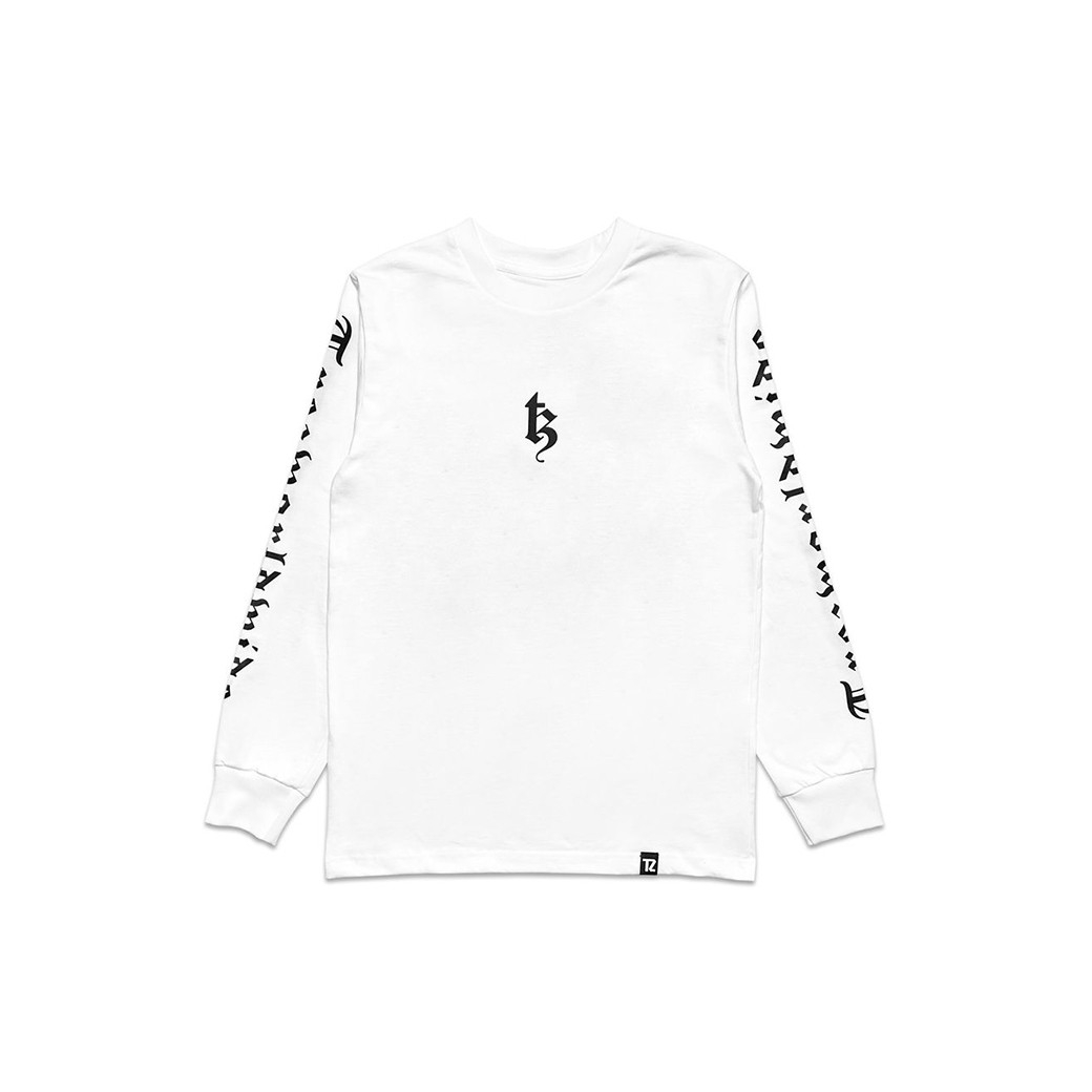 TZ WORLDWIDE BE TREZ L/S T-SHIRT WHITE