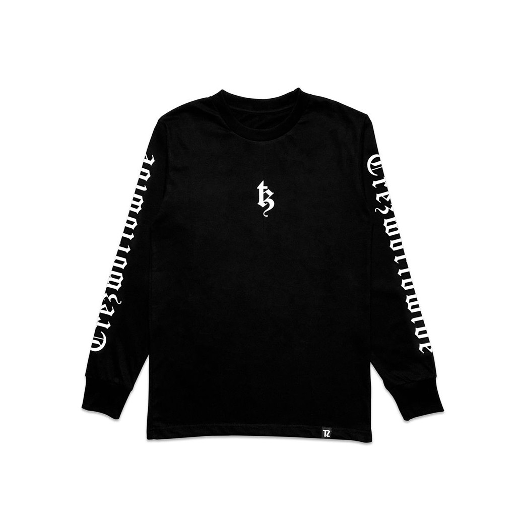 TZ WORLDWIDE BE TREZ L/S T-SHIRT BLACK