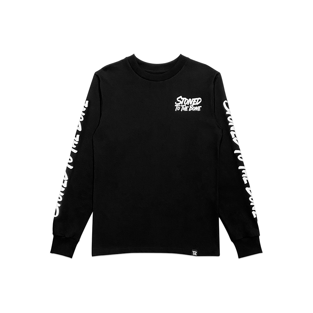 TZ WORLDWIDE HIGH TILL I DIE L/S TEE BLACK