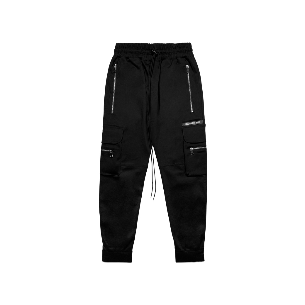 TZ WORLDWIDE TREZ V.2 CARGO PANTS BLACK