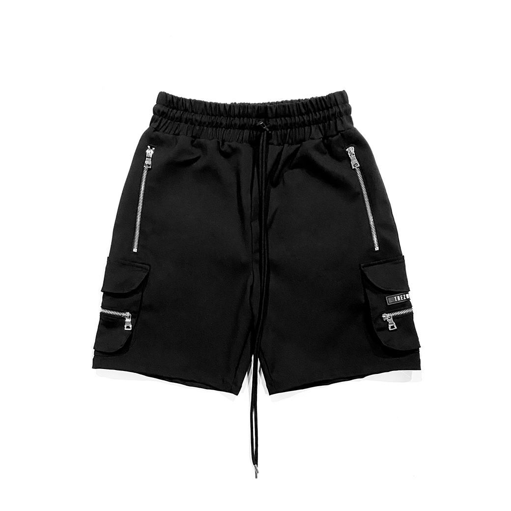TZ WORLDWIDE CARGO SHORT BLACK