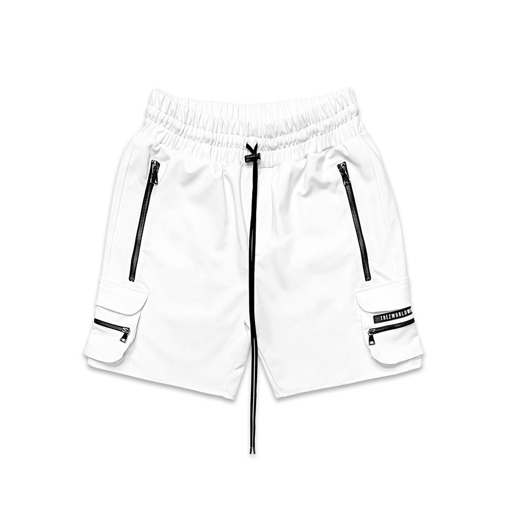 TZ WORLDWIDE CARGO SHORT WHITE