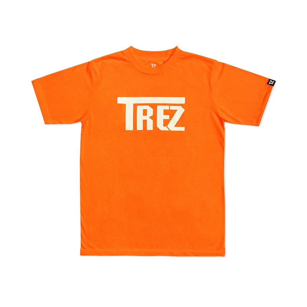TZ WORLDWIDE CLASSIC LOGO REFLEX TEE ORANGE