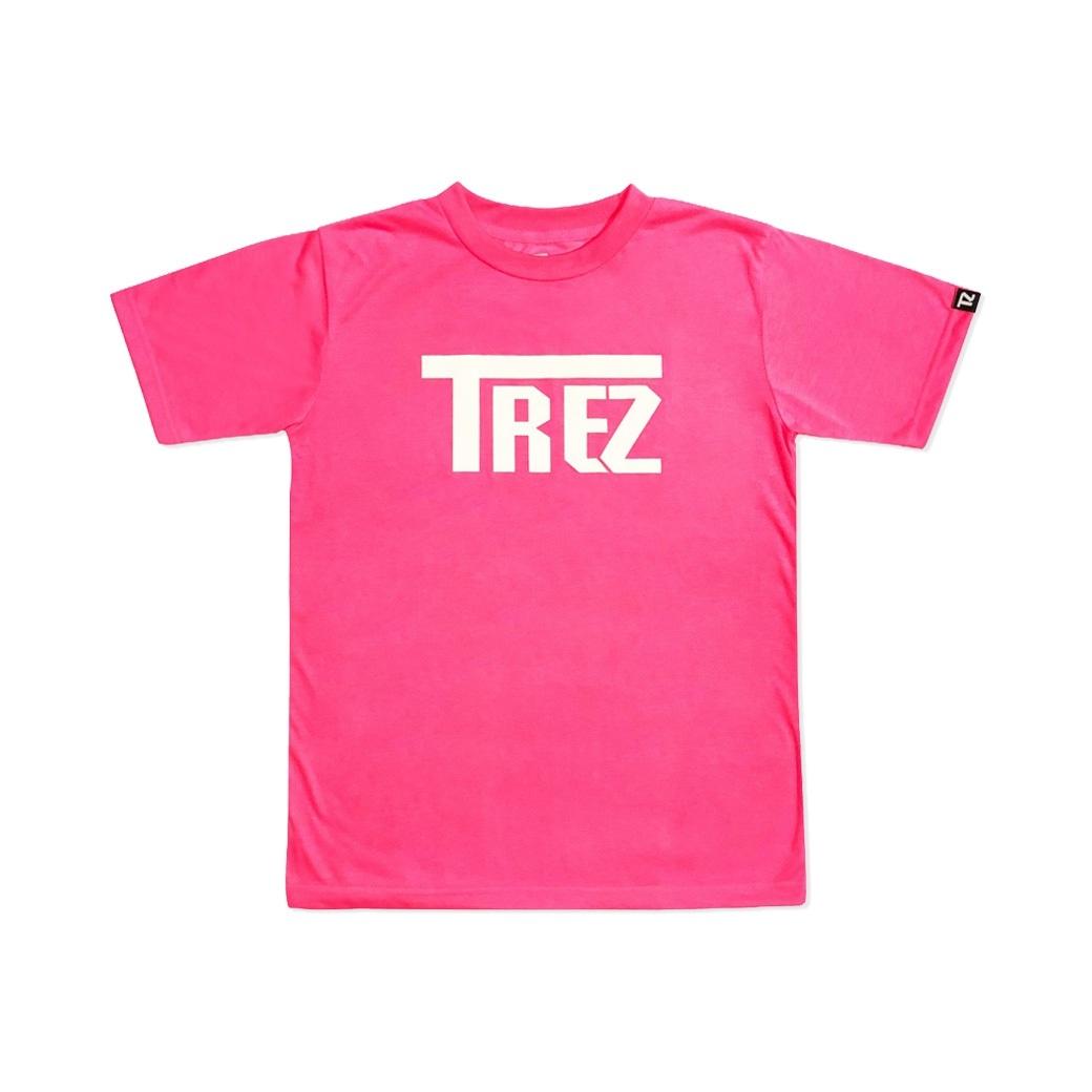 TZ WORLDWIDE CLASSIC LOGO REFLEX TEE PINK