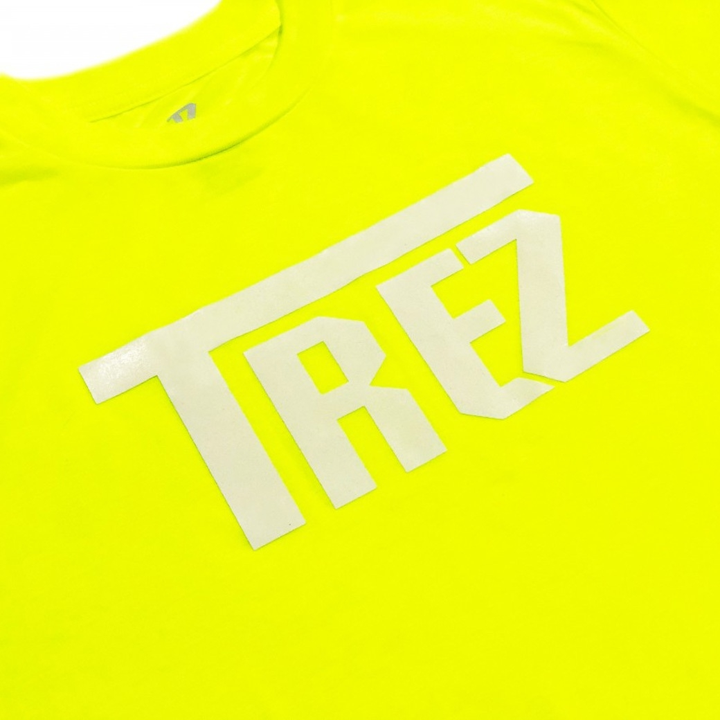 TZ WORLDWIDE CLASSIC LOGO REFLEX TEE YELLOW