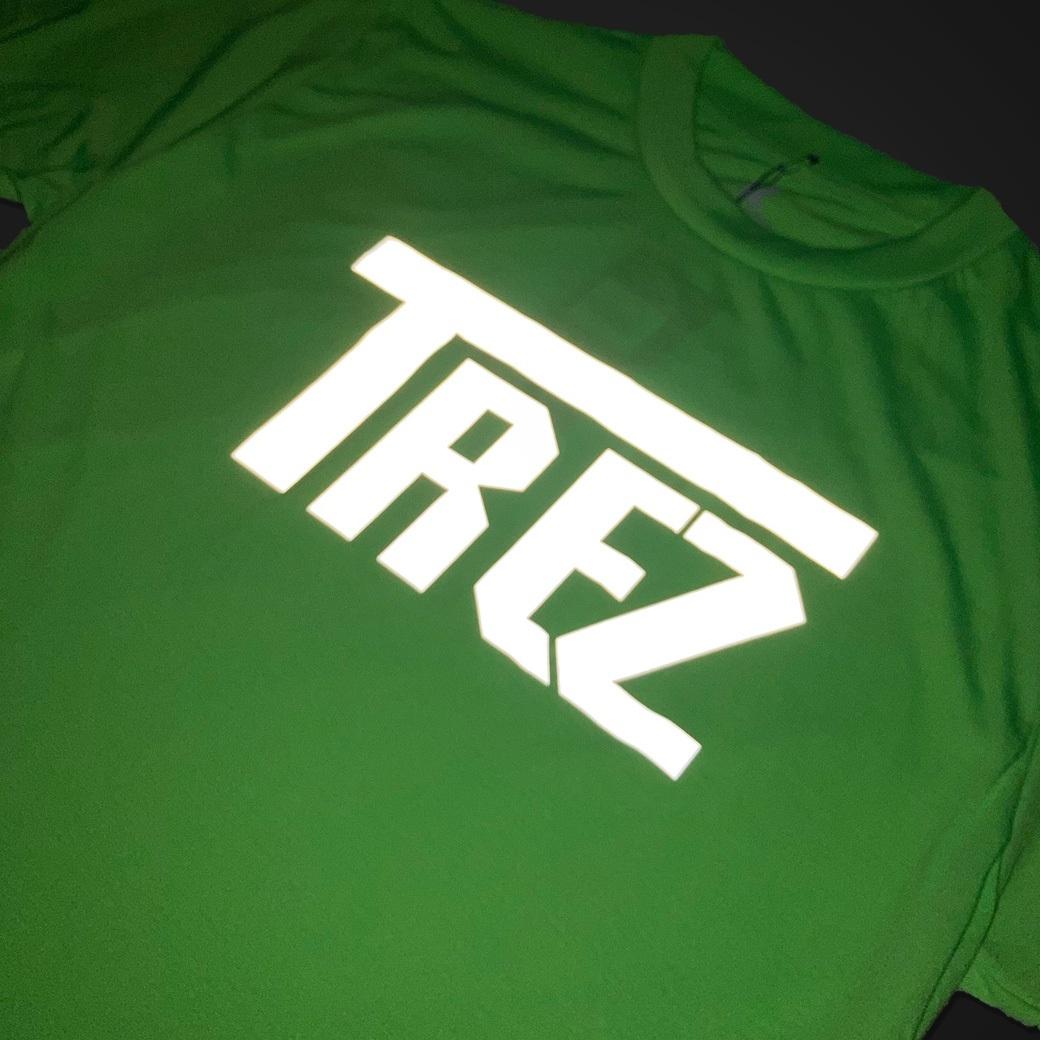 TZ WORLDWIDE CLASSIC LOGO REFLEX TEE GREEN