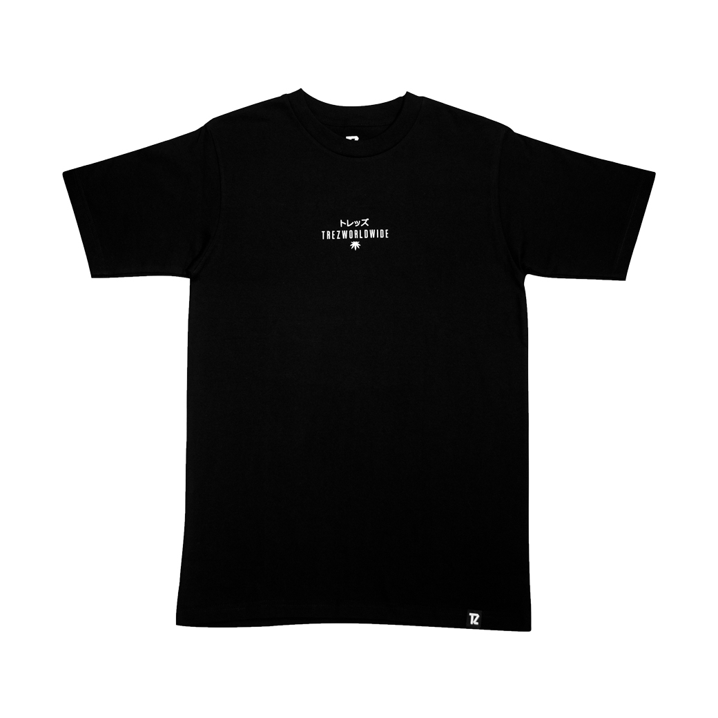 TZ WORLDWIDE GOD IS DOPE S/S TEE BLACK