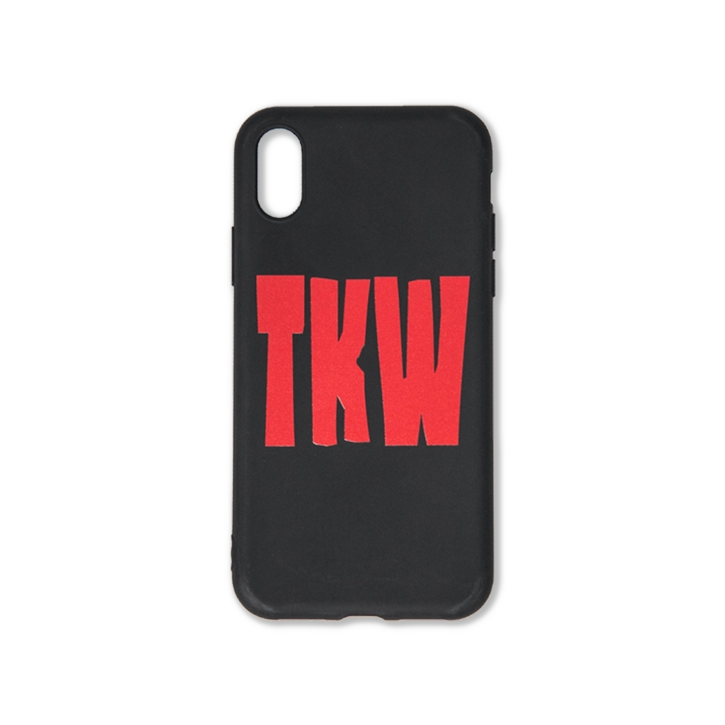 TKW LOGO IPHONE CASE BLACK