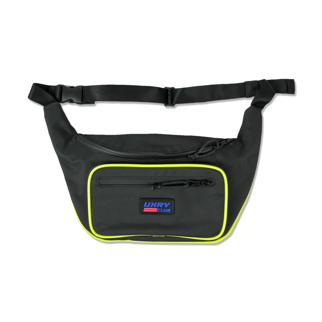 UXRY CLUB VIVID ACTIVE BELT BAG BLACK