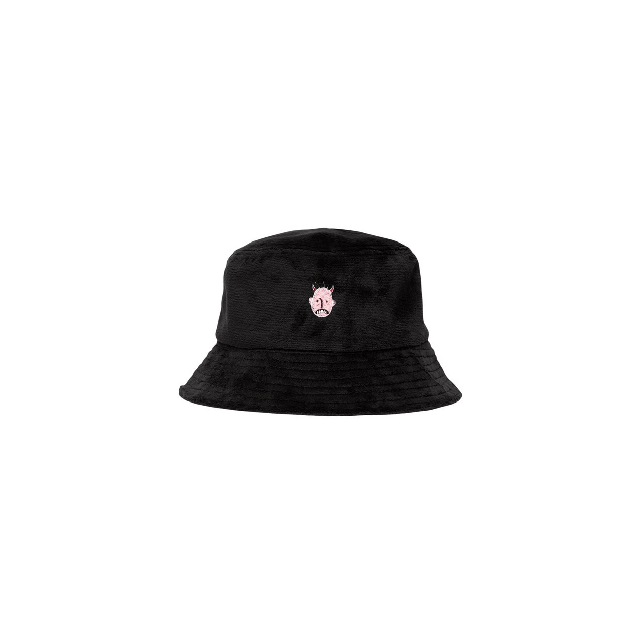 UXRY CLUB IMOTO BLACK MAGIC BUCKET HAT BLACK