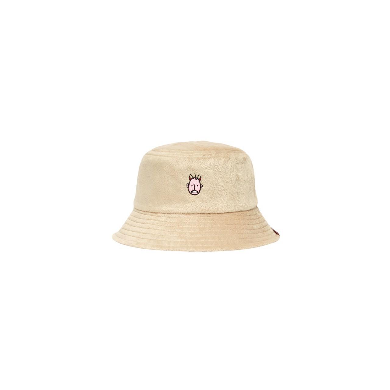 UXRY CLUB IMOTO CARAMEL BUCKET HAT BEIGE