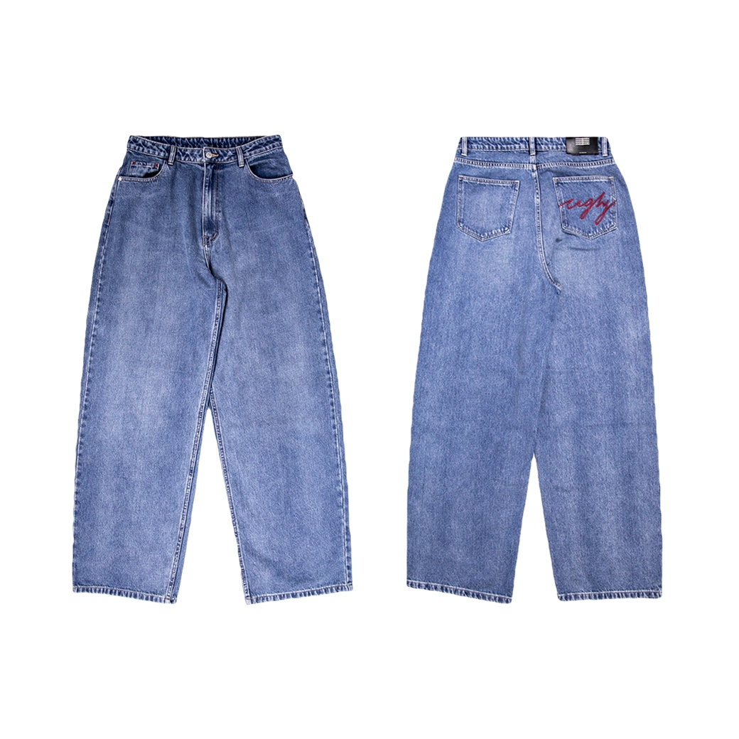 2MANYUGLYCLOTHES UGLY DENIM 001 JEANS