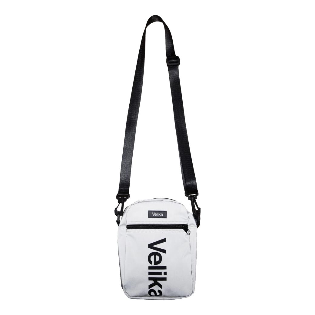 VELIKA FULL 3M REFLECTIVE SHOULDER BAG RUBBER LOGO