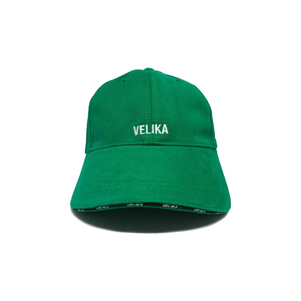 VELIKA LOGO CAP GREEN