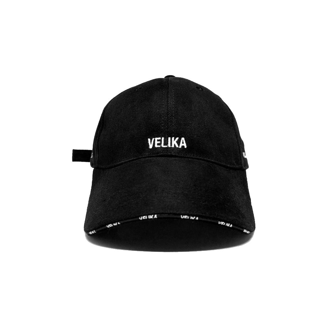 VELIKA LOGO CAP BLACK