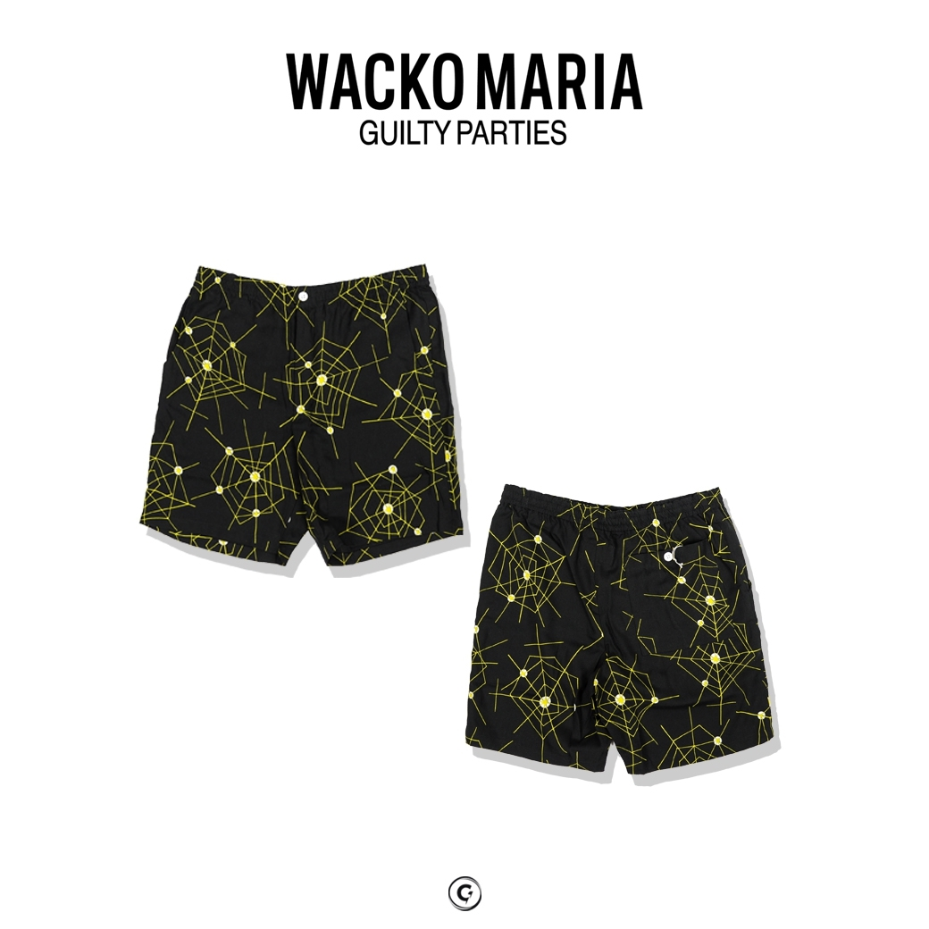 WACKO MARIA ATOMIC SPIDER HAWAIIAN SHORT