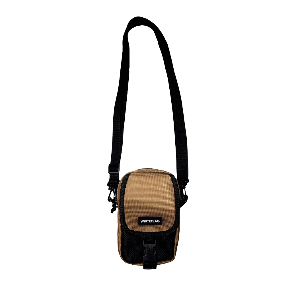 WHITEFLAG MULTI-FUNCTION BAG BROWN