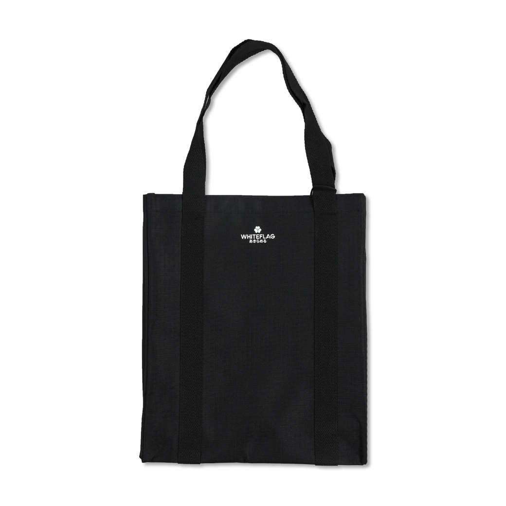 WHITEFLAG TOTE BAG BLACK