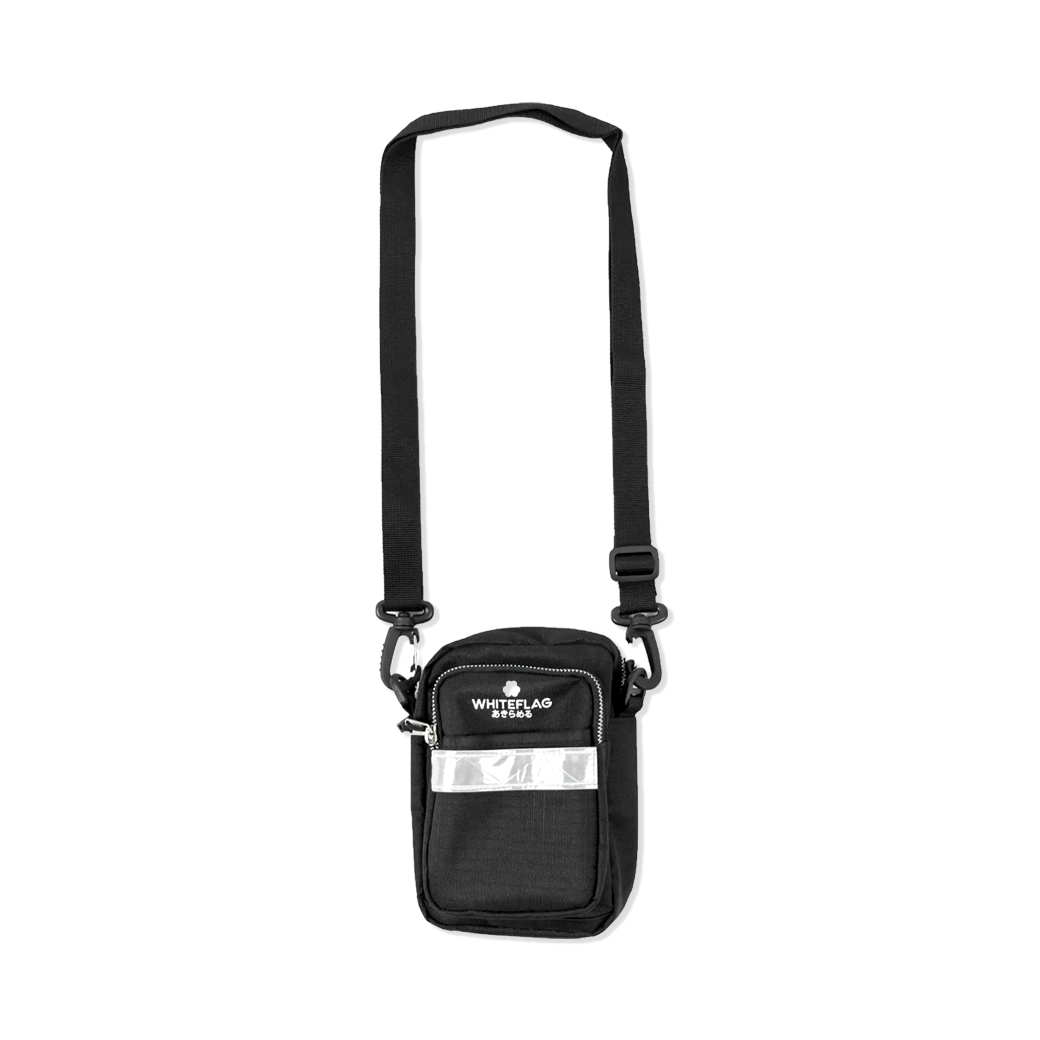 WHITEFLAG SHOULDER BAG BLACK