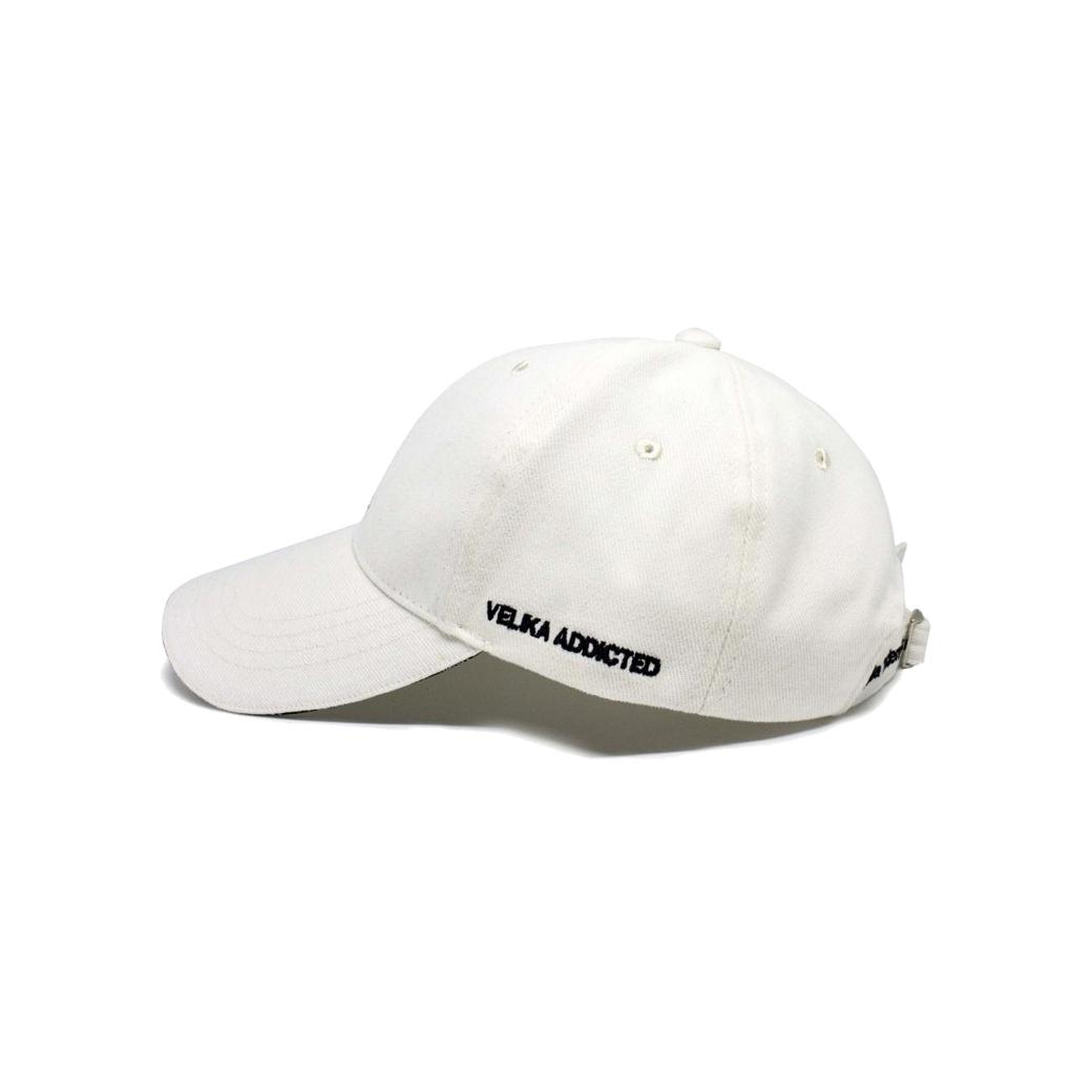 VELIKA LOGO CAP WHITE