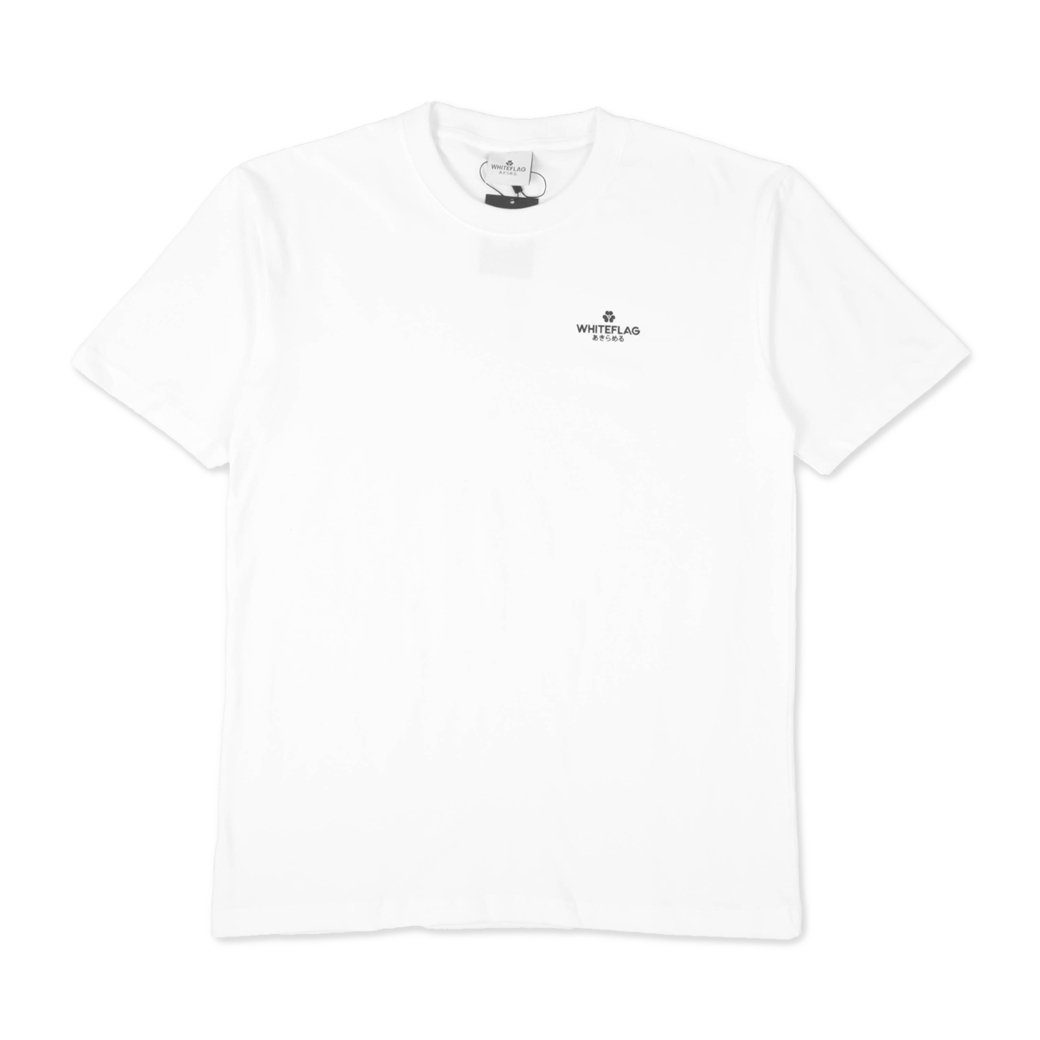 WHITEFLAG CLASSIC COLLECTION TEE WHITE