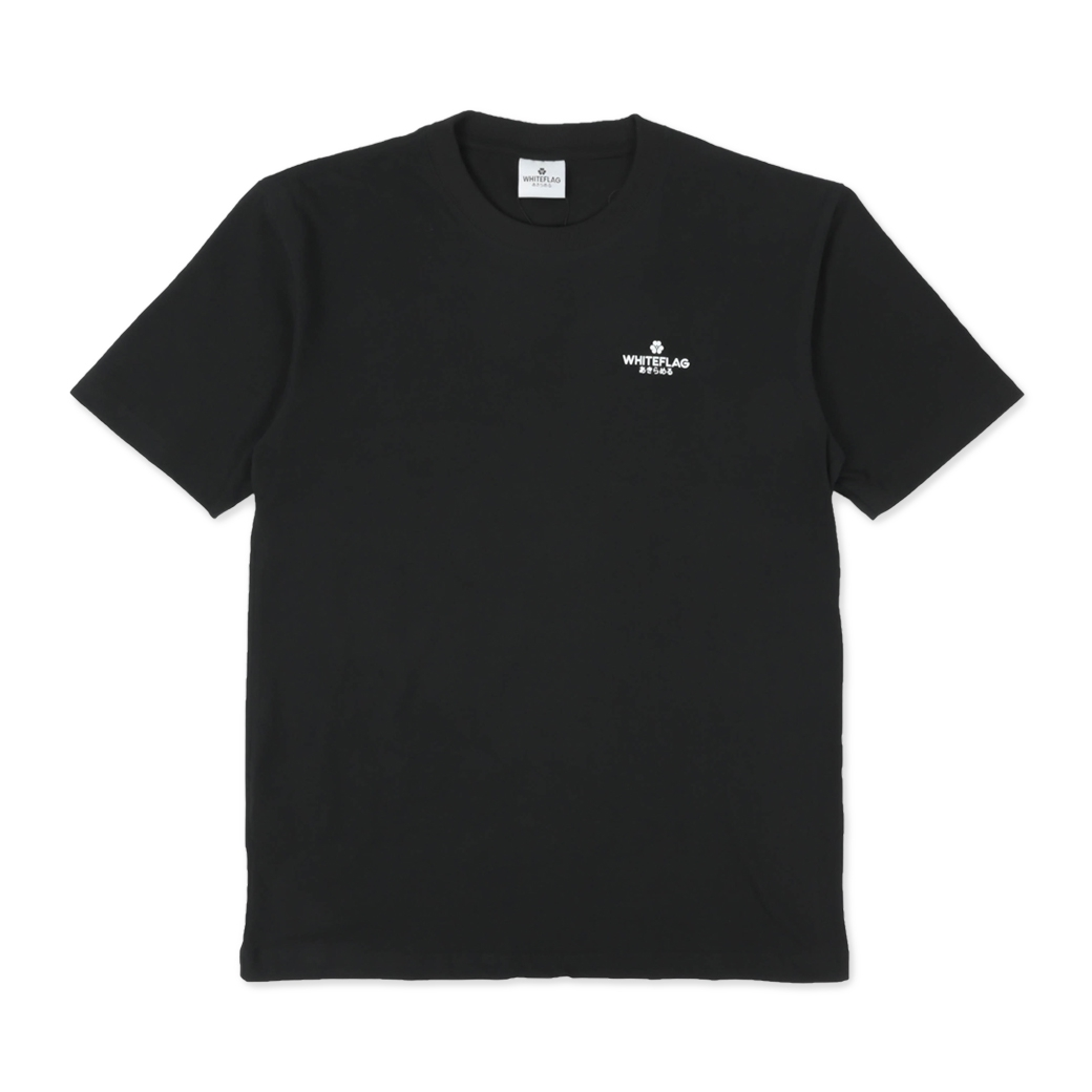 WHITEFLAG CLASSIC COLLECTION TEE BLACK