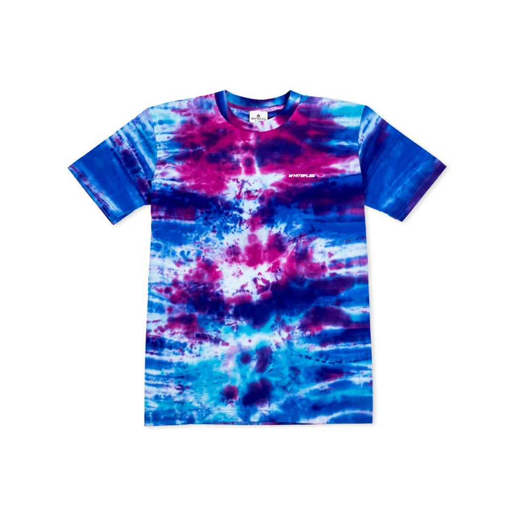 WHITEFLAG NEBULA COLLECTION TEE TIE DYE