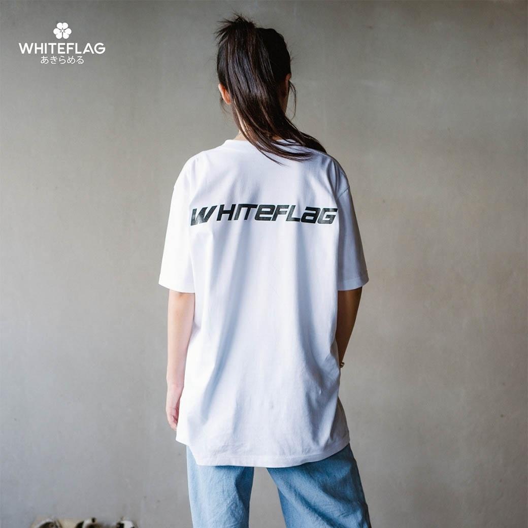 WHITEFLAG NEBULA COLLECTION TEE WHITE
