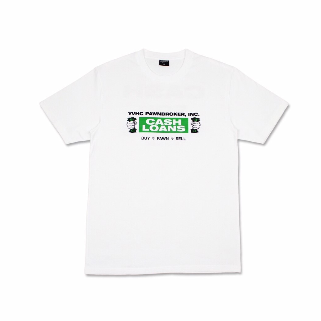 YVHC CASH LOAN TEE WHITE
