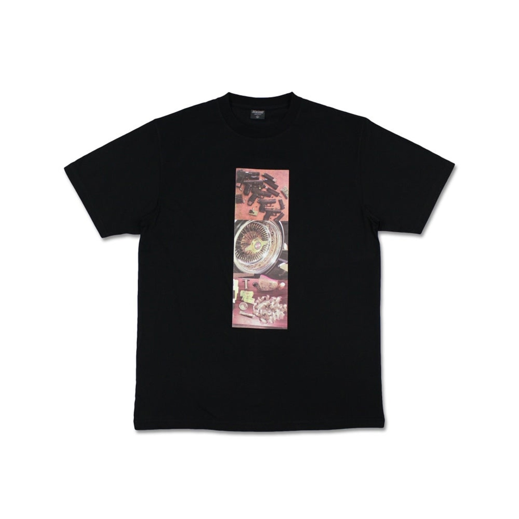 YVHC MADE IN THE HOOD TEE BLACK