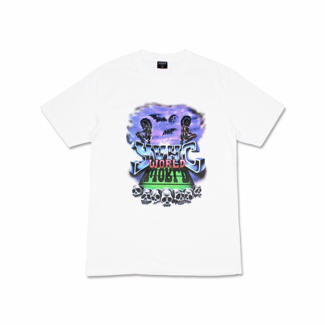YVHC WORLD TEE WHITE